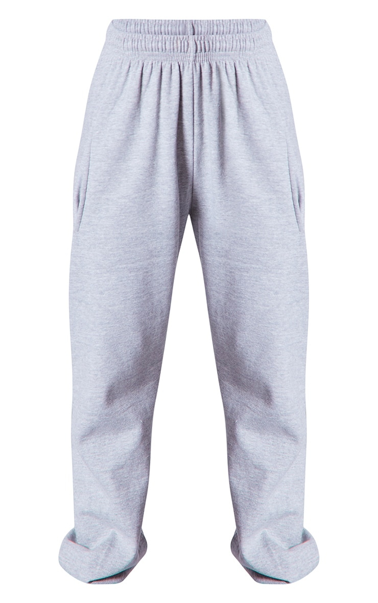 PRETTYLITTLETHING Grey Branded Apparel Joggers 5