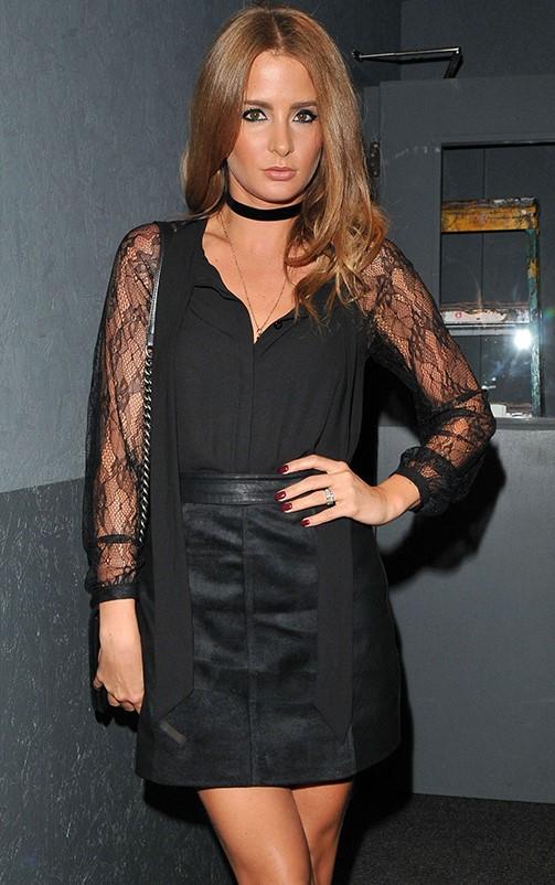 Rosy Black Lace Bodysuit 2