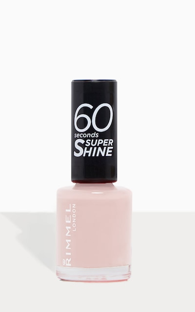 Rimmel 60 Seconds Super Shine Summer Collection Nail Polish Sea Nymph