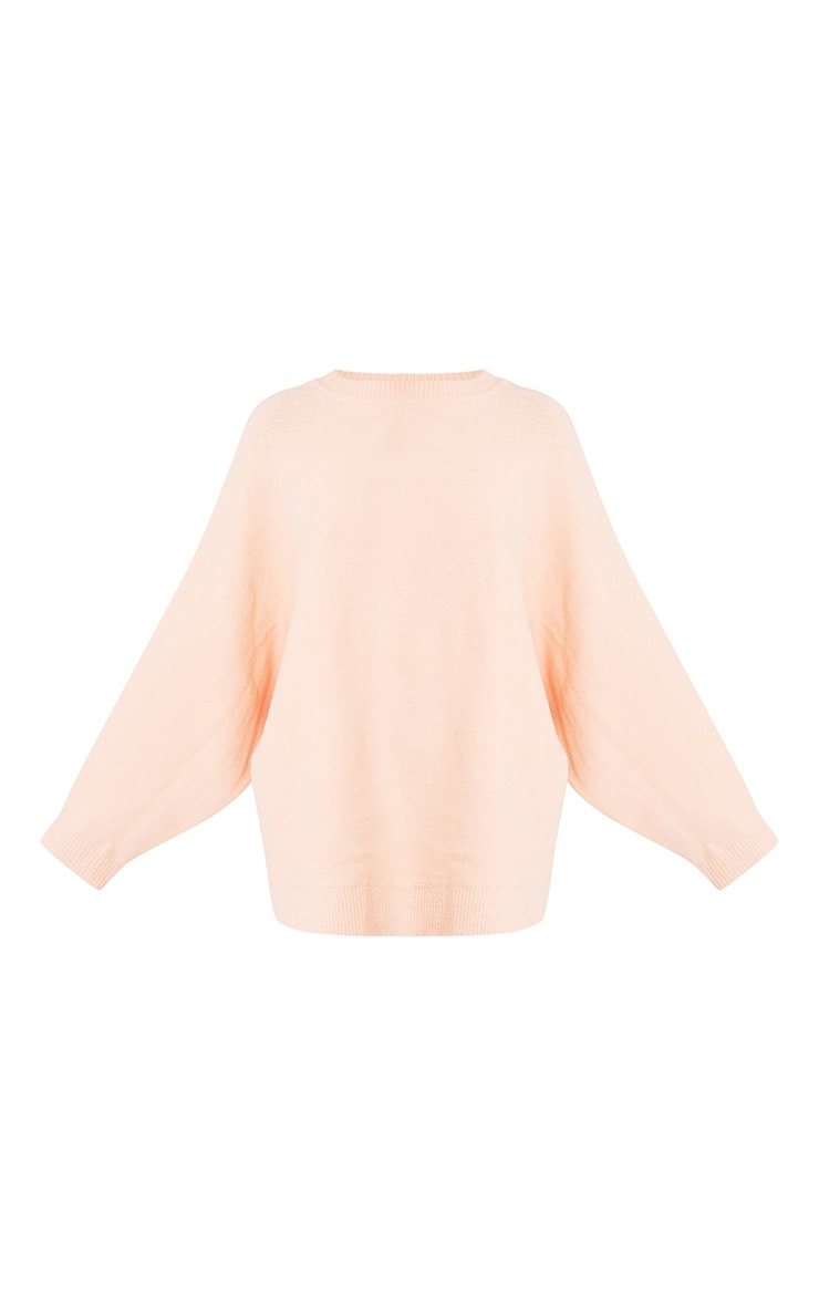Raysa Nude Oversized Knitted Jumper 4