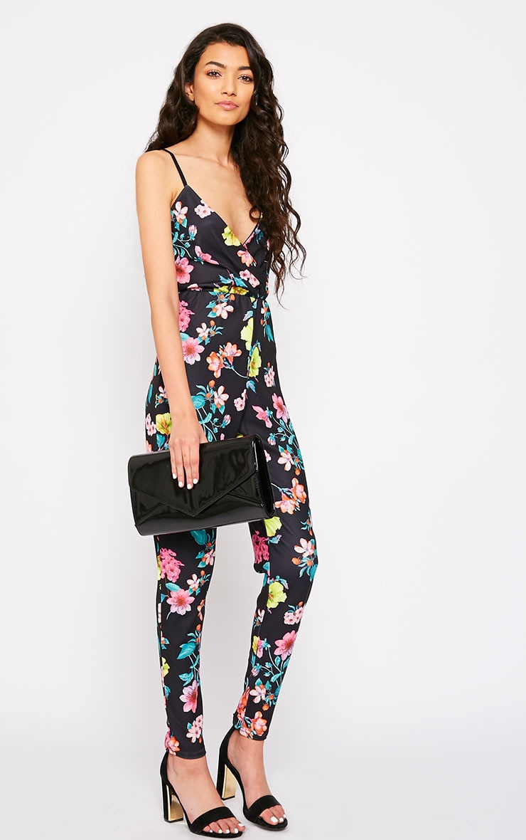 Brooks Floral Print Jumpsuit 3