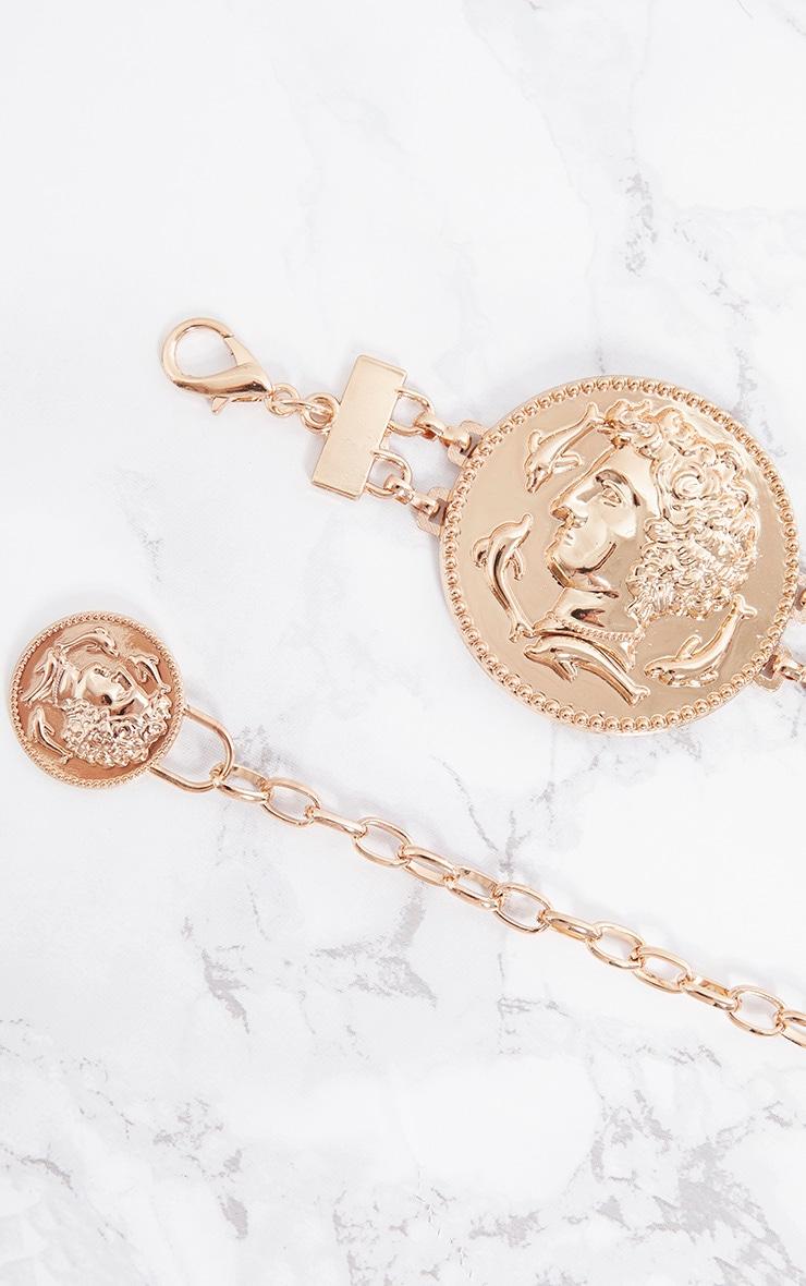Gold Coin Chain Belt 5