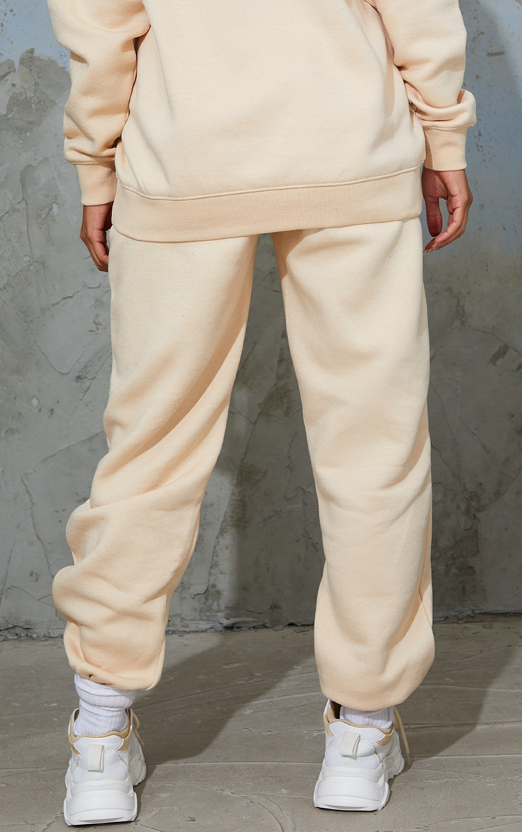 PRETTYLITTLETHING Maternity Camel Embroidered Joggers 3