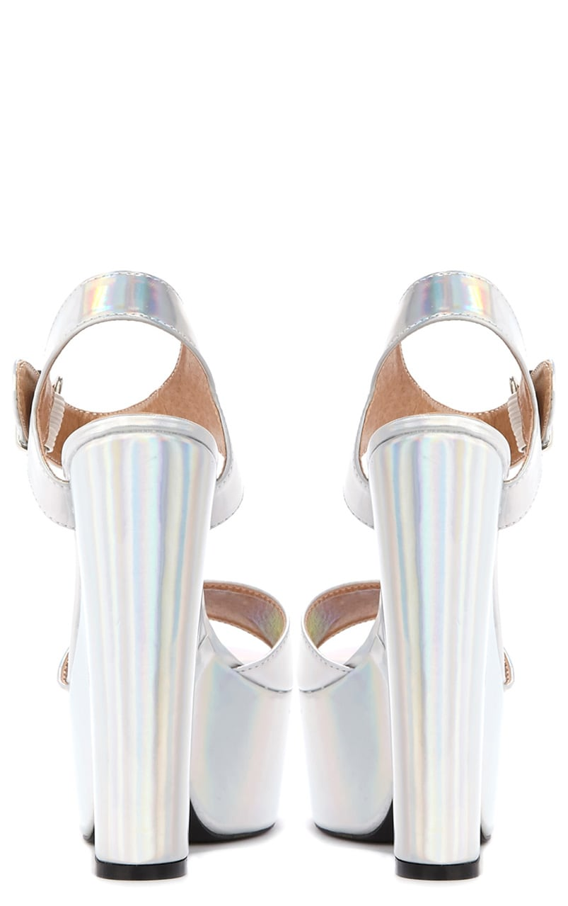 Madison Holographic Platform Sandal 2