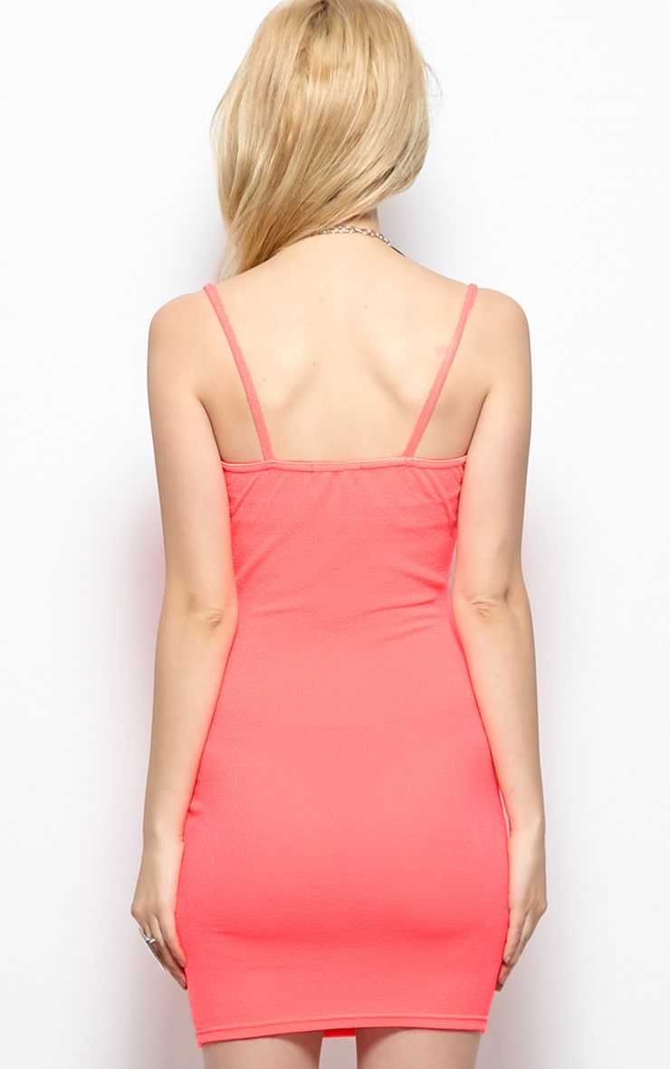 Kristin Pink Premium Strappy Dress 2