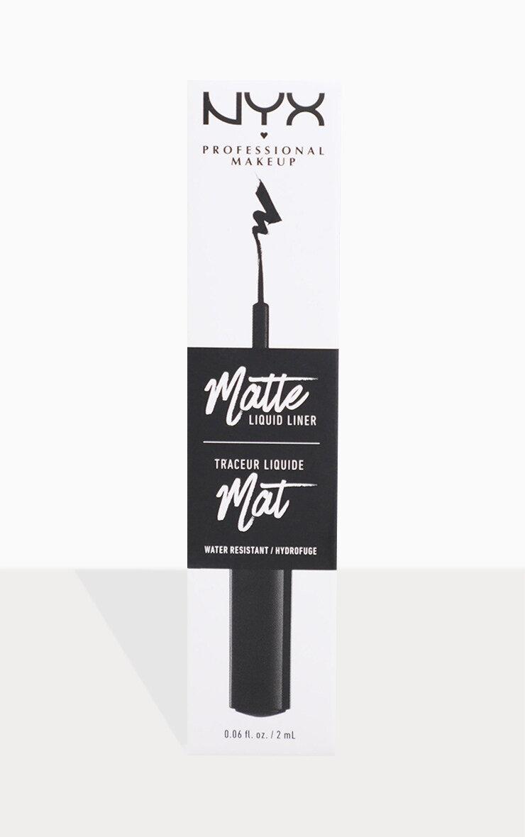 NYX PMU Black Matte Liquid Liner 3