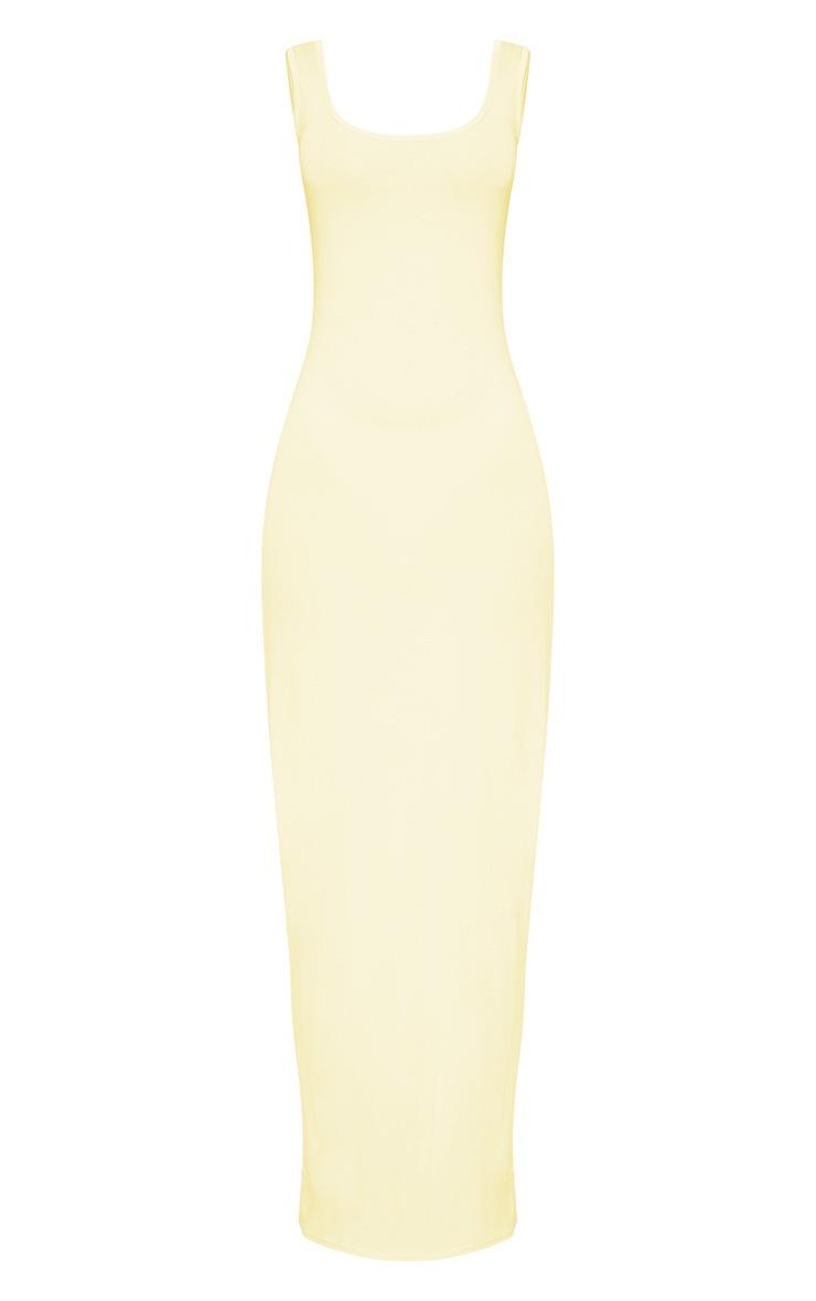 Lemon Racer Maxi Dress 3