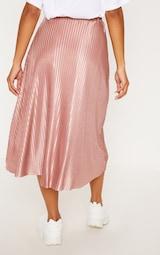 Rose Pleated Full Midi Skirt 4