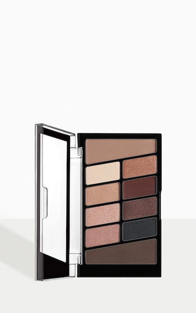 wet n wild Color Icon 10 Eyeshadow Palette Nude Awakening