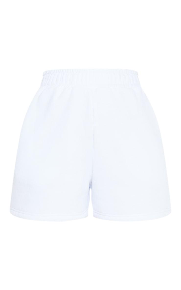 White Sweat Pocket Shorts 6