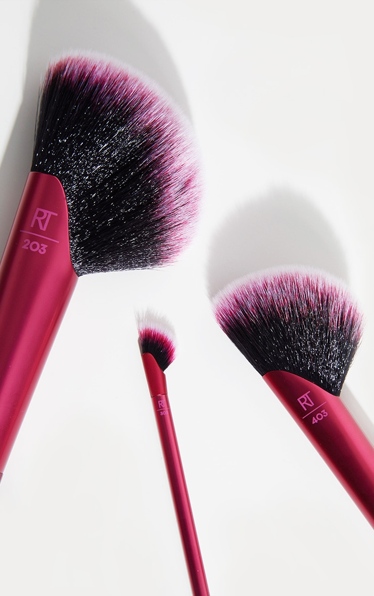 Real Techniques Rebel Edge Trio Brush Set 3