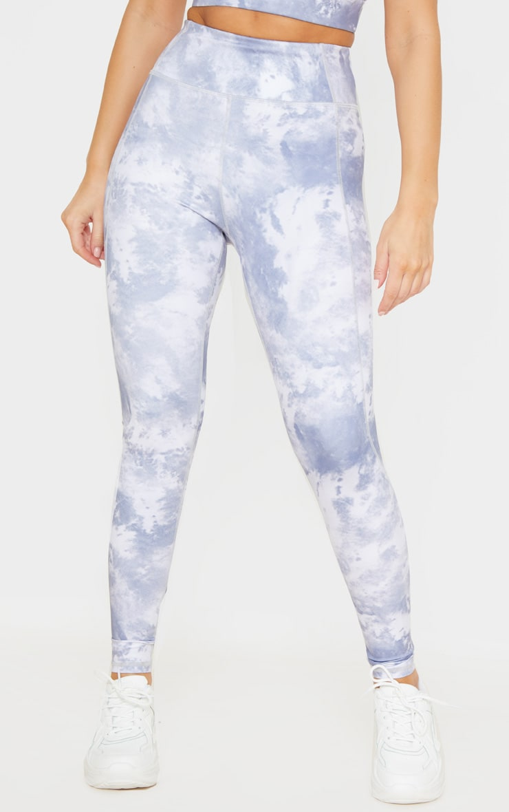 Blue Acid High Rise Gym Legging 2