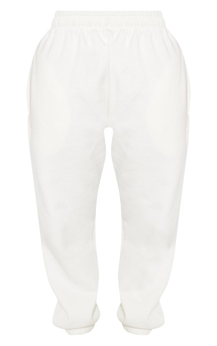 Shape - Jogging crème à taille haute et poches  3