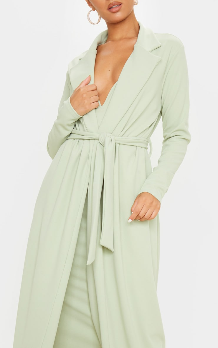 Sage Green Maxi Duster 5
