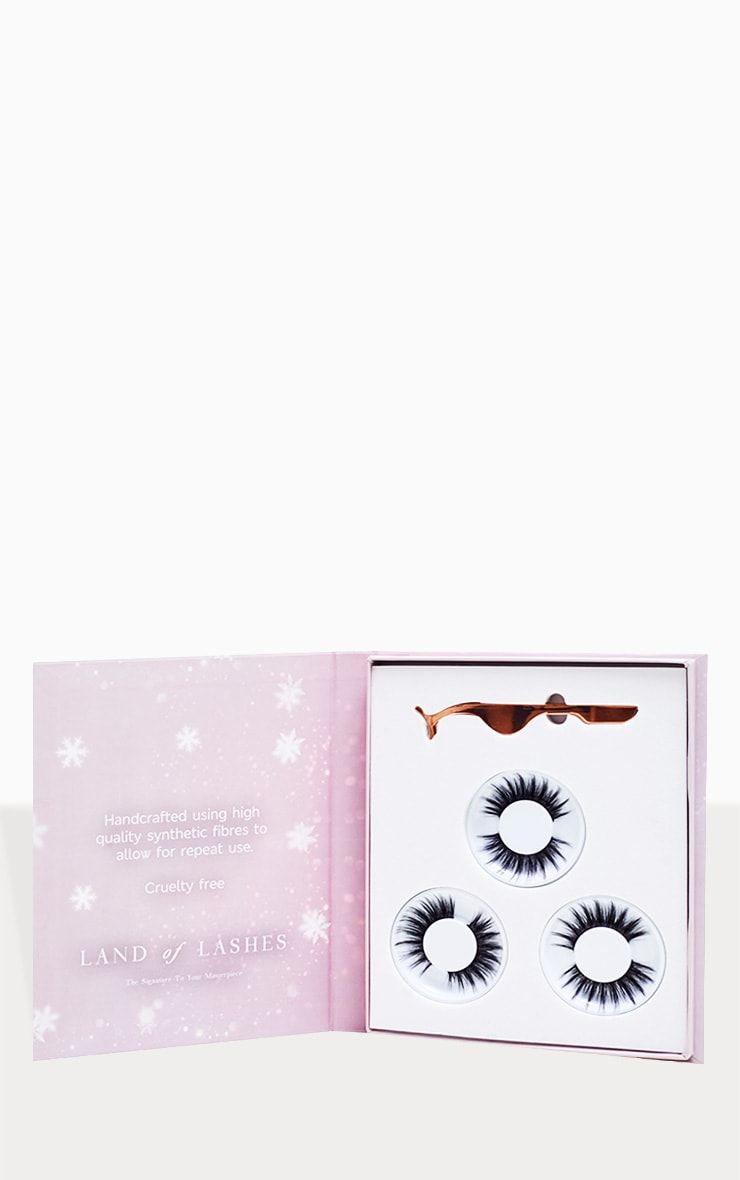 Land of Lashes Christmas Luxury Aurora Faux Mink Gift Set