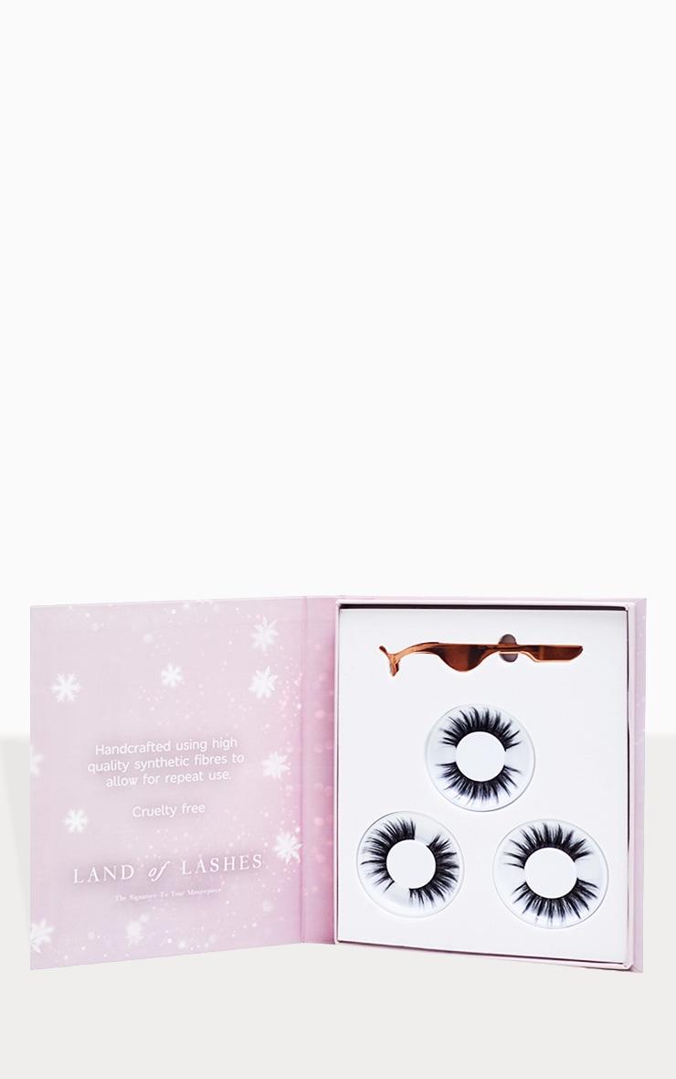 Land of Lashes Christmas Luxury Aurora Faux Mink Gift Set