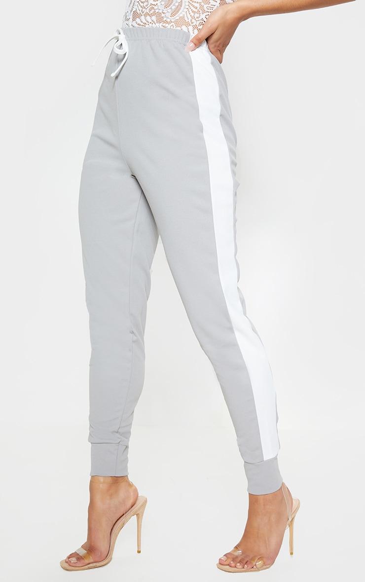 Grey Side Stripe Detail Jogger 2