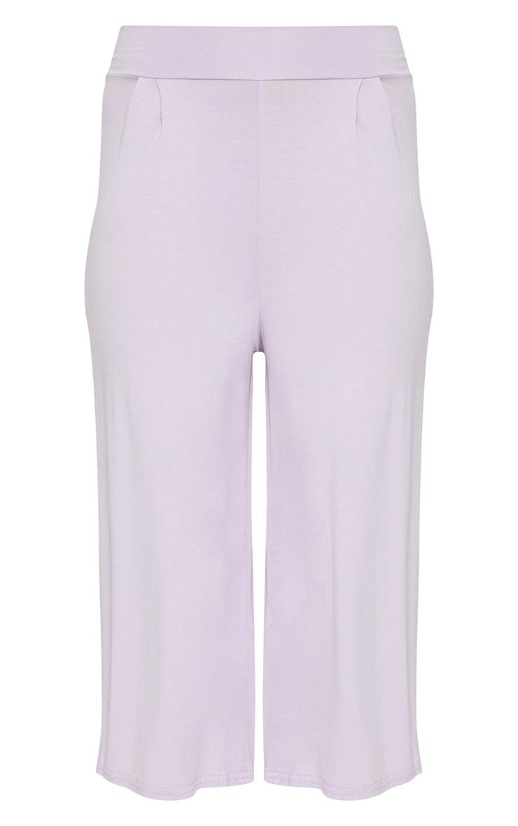 Lilac Basic Culotte  3