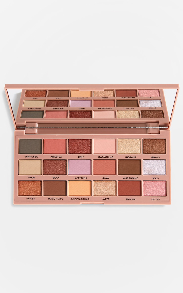 I Heart Revolution Tasty Eyeshadow Palette Coffee 1