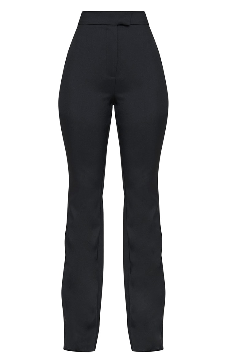Jessa Black Fit and Flare Trousers 3