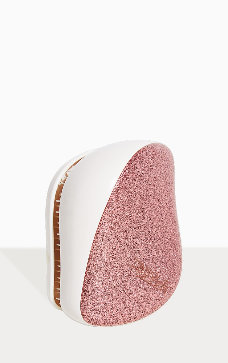 Tangle Teezer The Compact Rose Gold Glaze Styler Hairbrush