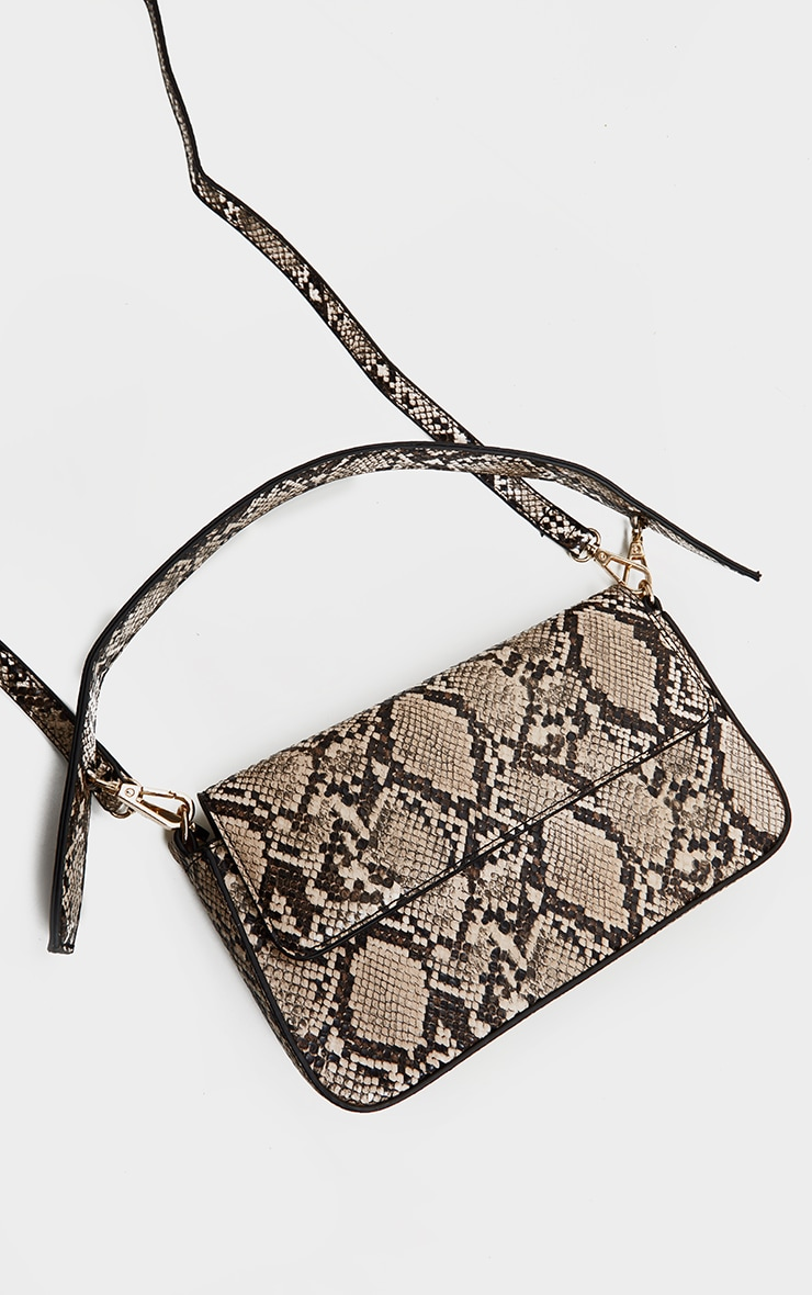 Brown Snake Cross Body Bag 3