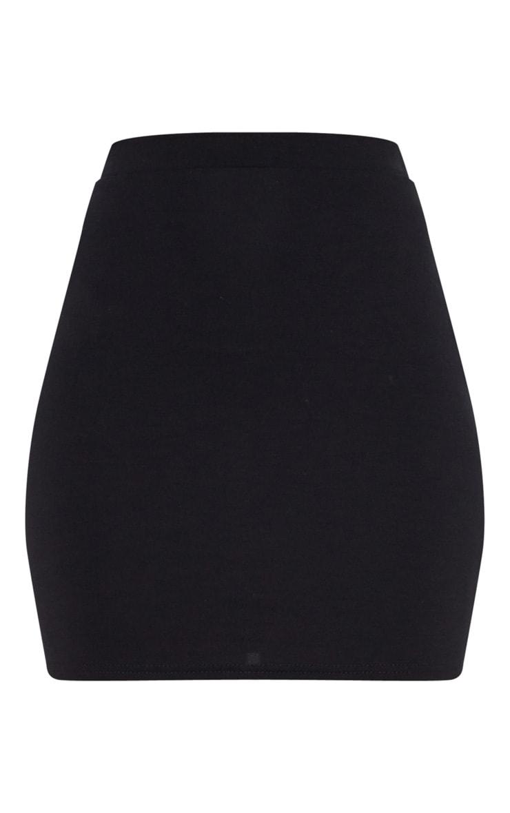 Black Ultimate Jersey Mini Skirt 3