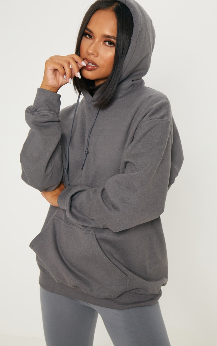 Charcoal Oversized Ultimate Hoodie 1