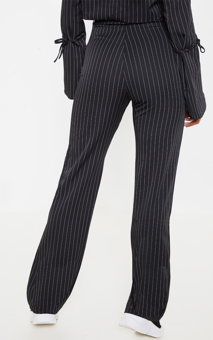 Black Pinstripe Trouser 5
