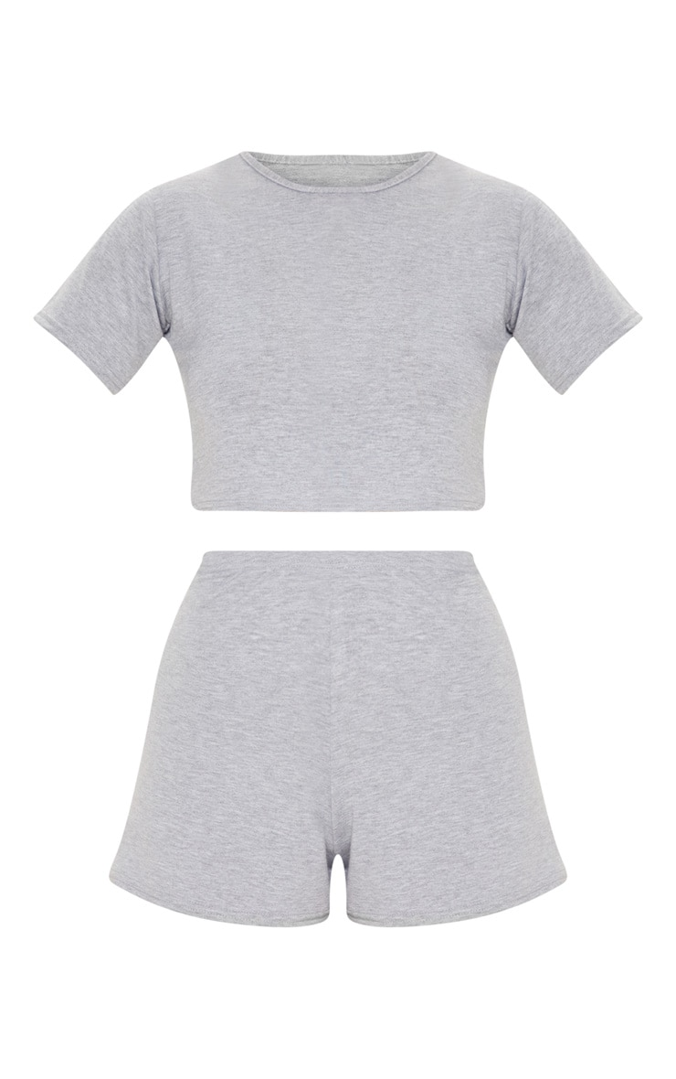 Grey Basic Pj Set 3