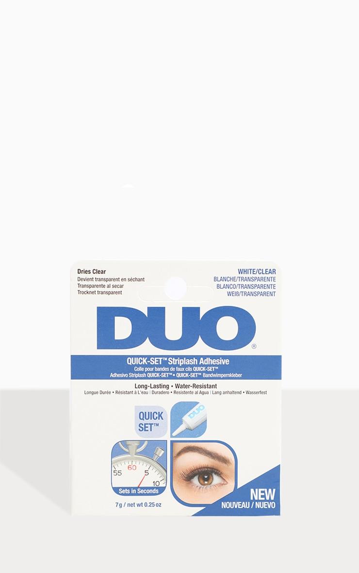 Adhésif transparent rapide pour faux-cils - DUO 1