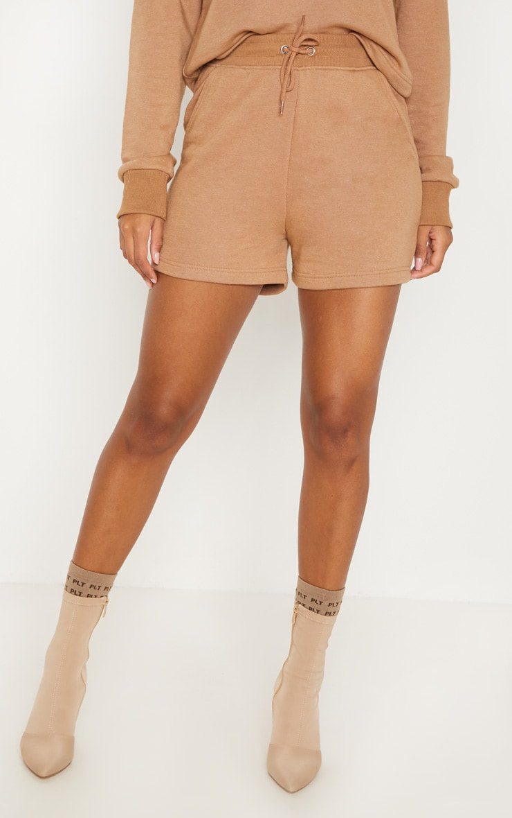 Taupe Sweat Shorts 2