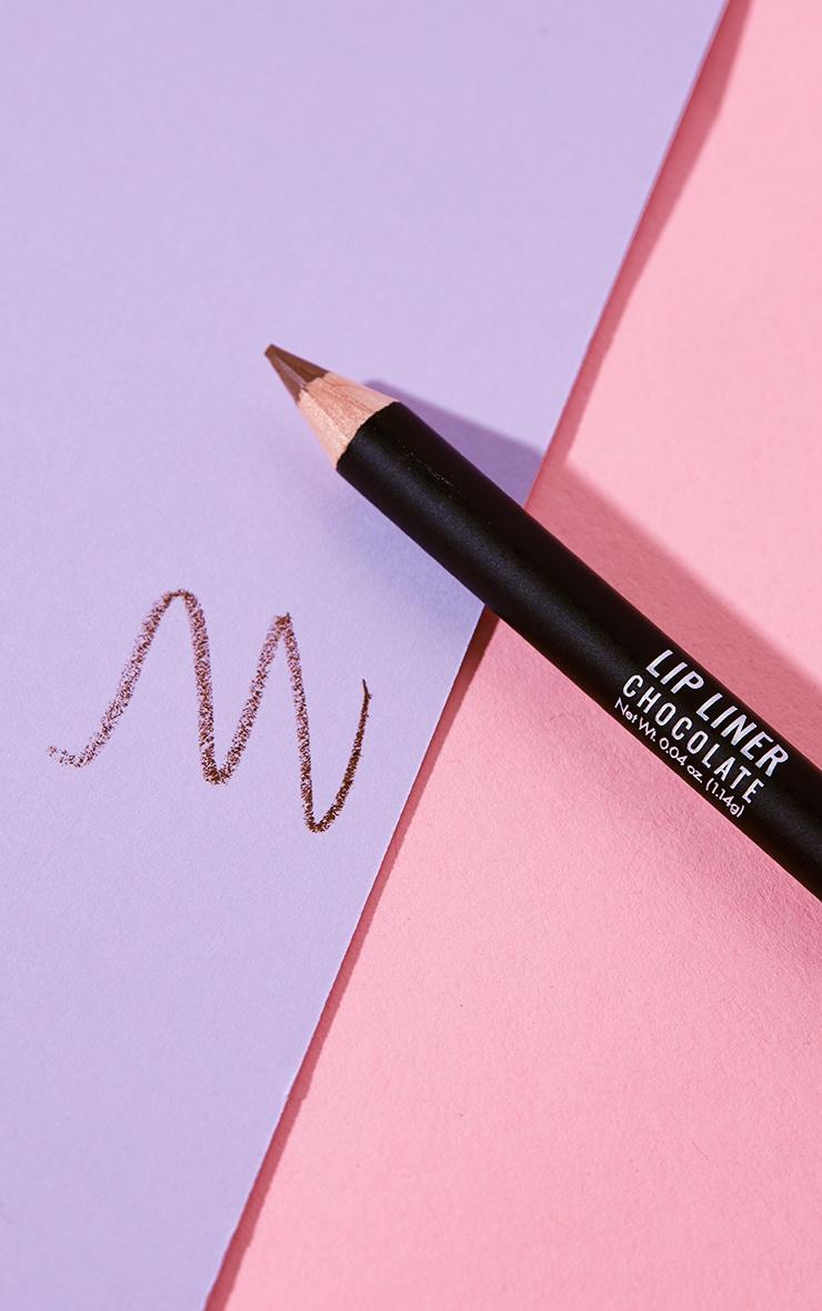 Barry M Cosmetics Lip Liner Chocolate 3