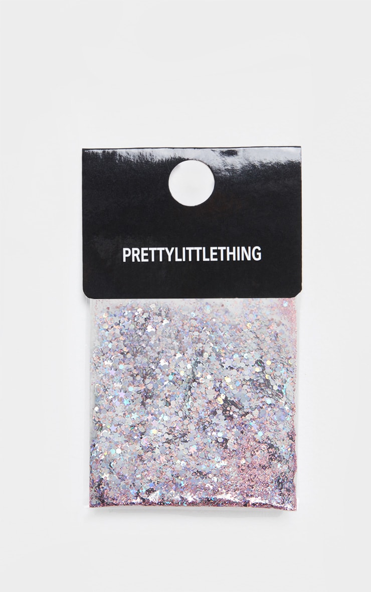 PRETTYLITTLETHING Chunky Pink Pegasus Glitter 2