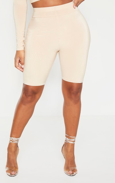Shape Biscuit Slinky High Waisted Cycling Shorts