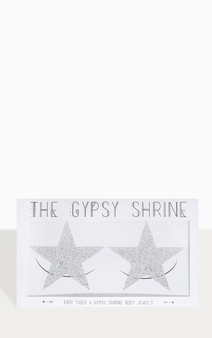 The Gypsy Shrine X Easy Tiger Stargazer Silver Body Jewel 1