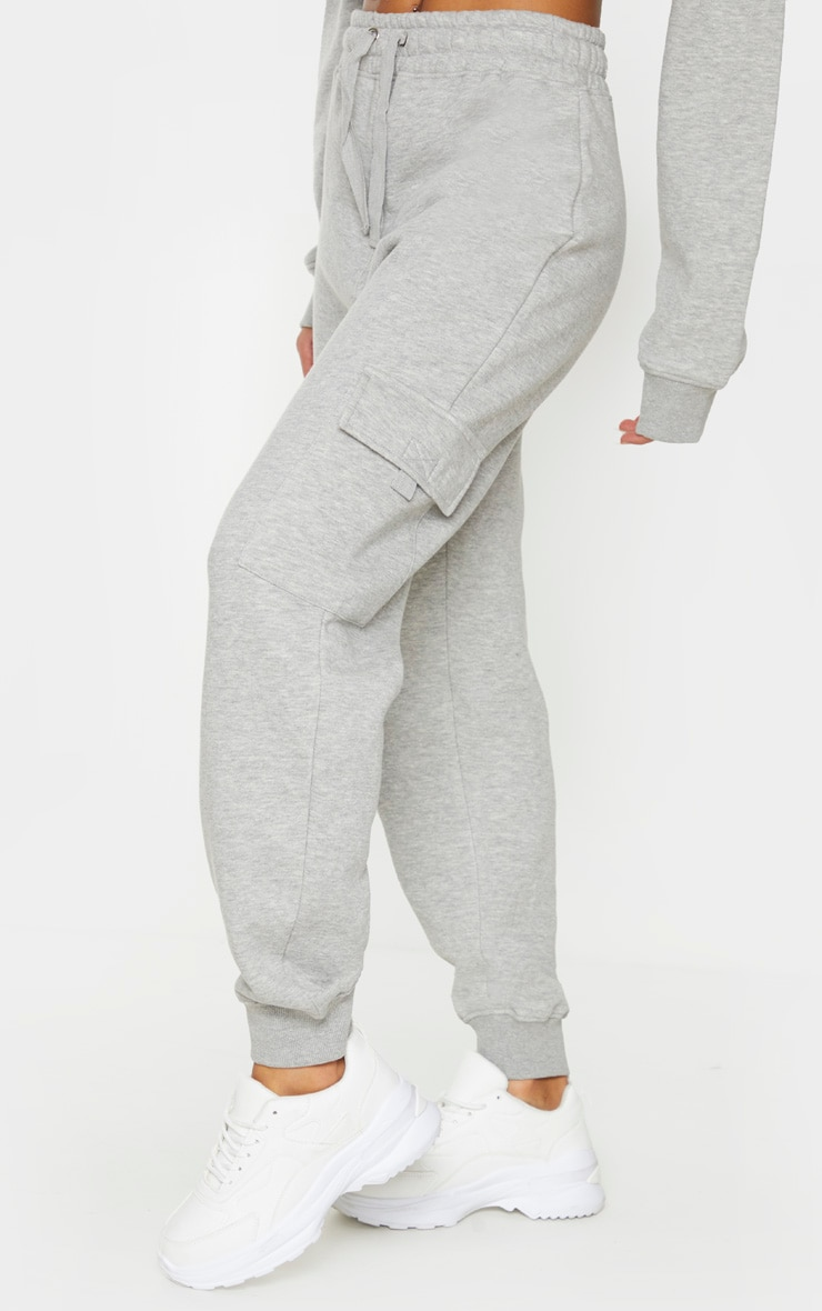 Grey Pocket Joggers 2