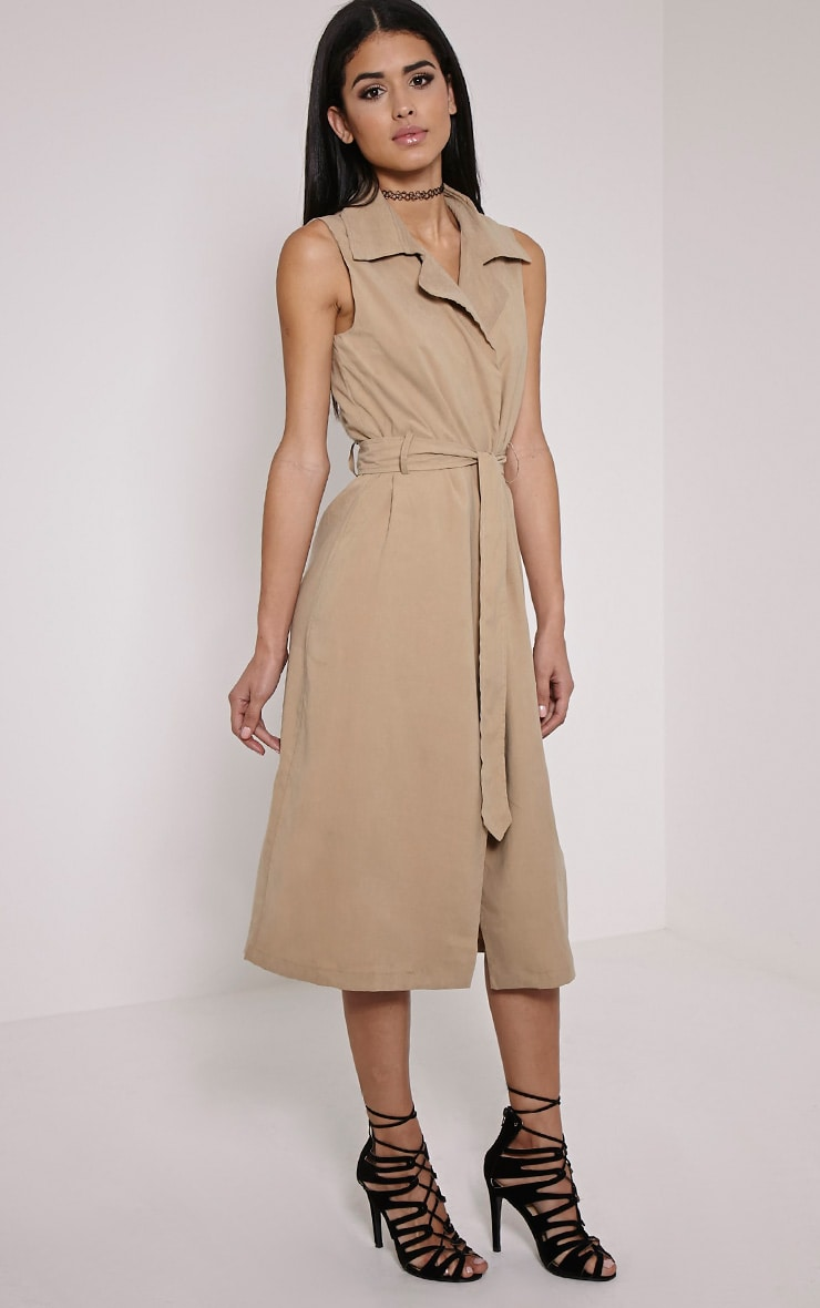 Carter Stone Sleeveless Trench 3