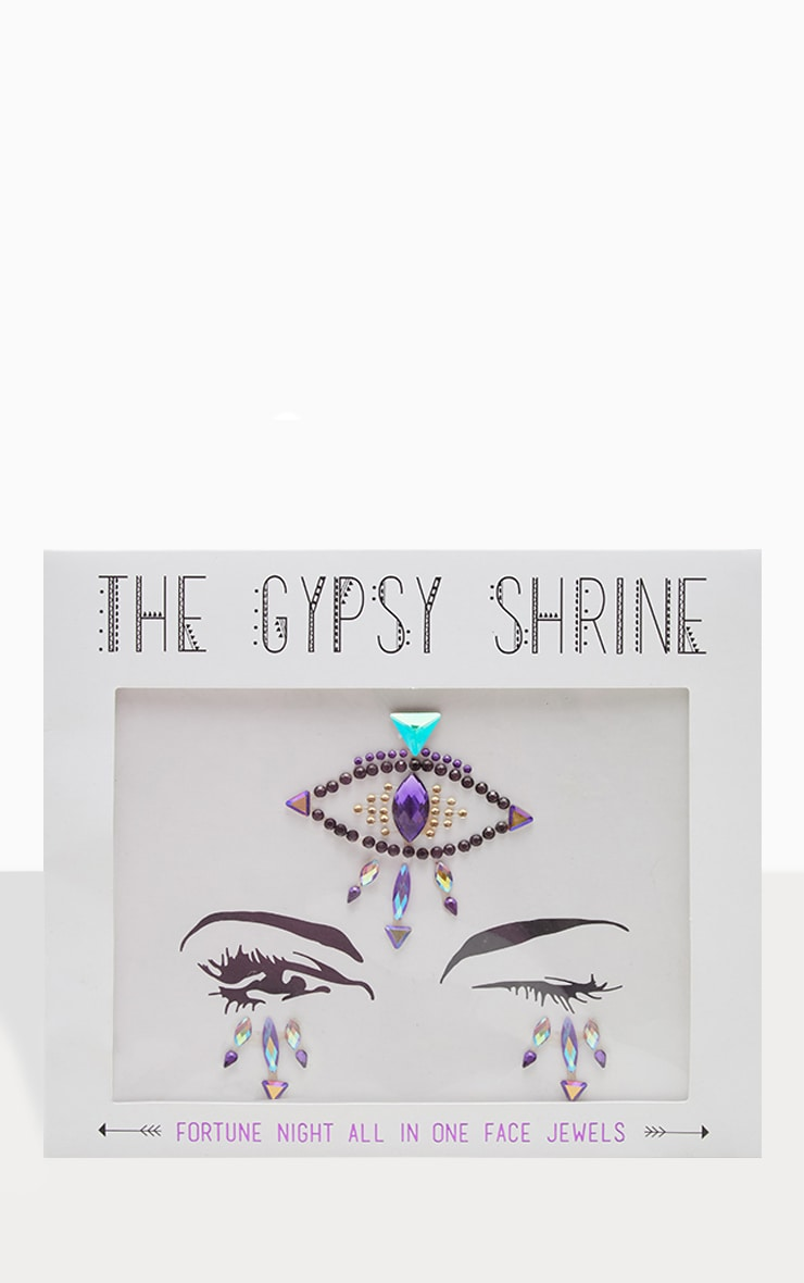 The Gypsy Shrine Dark Fortune Teller Face Jewels 2