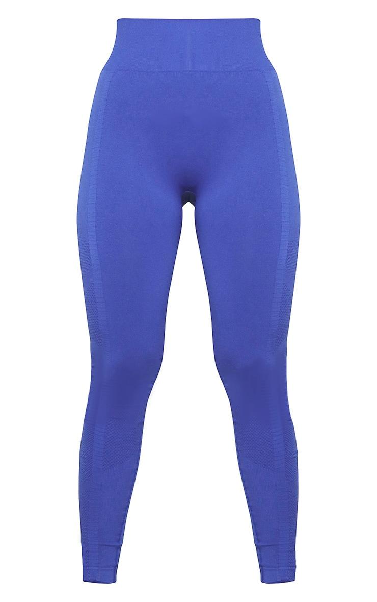 Cobalt Seamless Gym Leggings 4