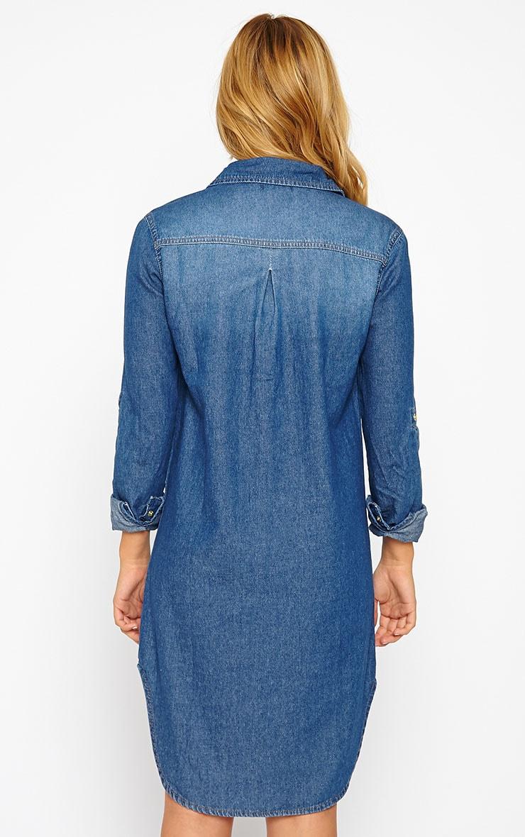 Sachi Denim Shirt Dress 2