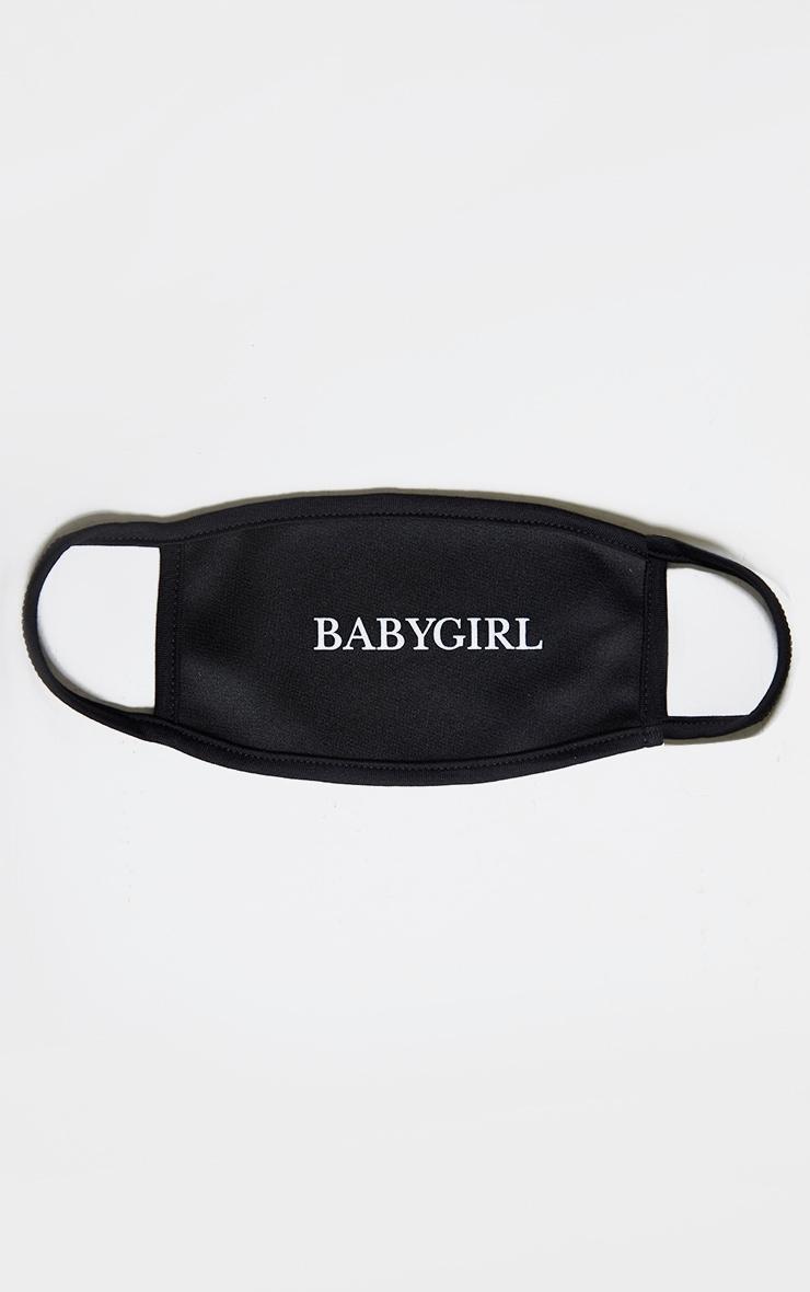 Baby Girl Black Mask 2