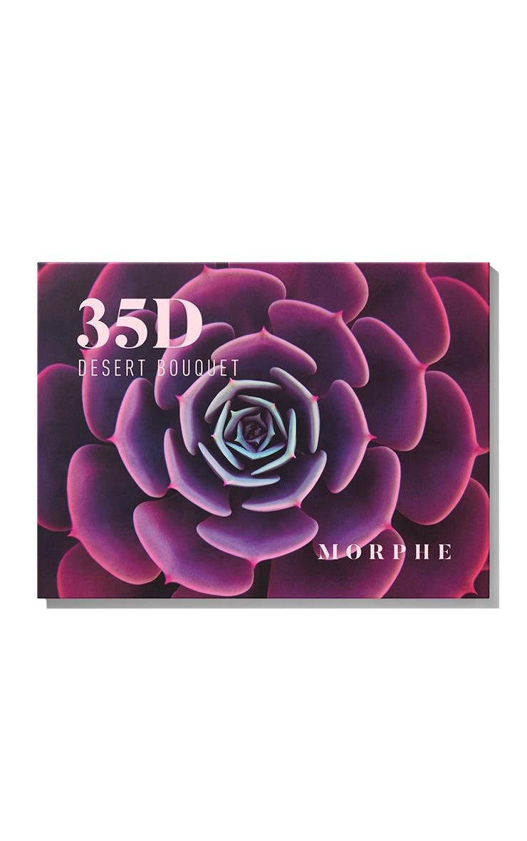 Morphe 35D Desert Bouquet Artistry Eyeshadow Palette 3