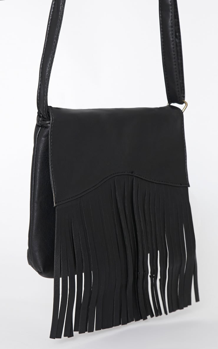 Monna Black Tassel Bag 5