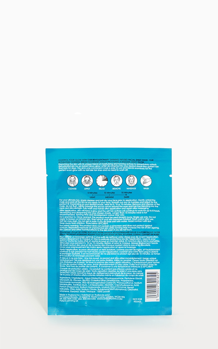 St. Tropez Self Tan Express Face Sheet Mask 3