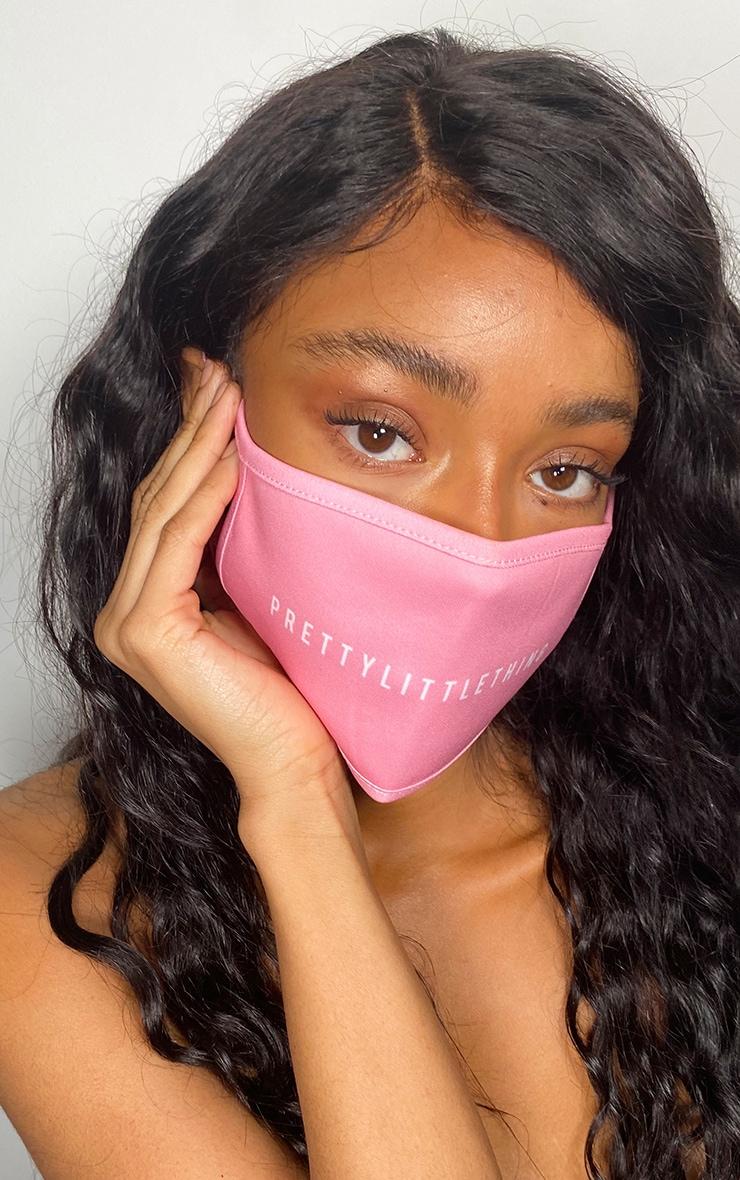 PRETTYLITTLETHING Baby Pink Fashion Mask 1