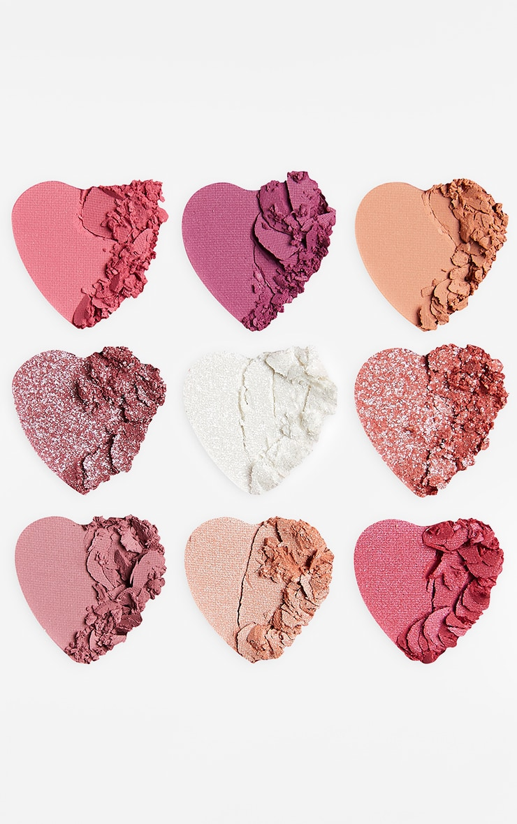 I Heart Revolution Heartbreakers Eyeshadow Palette Sweetheart 3