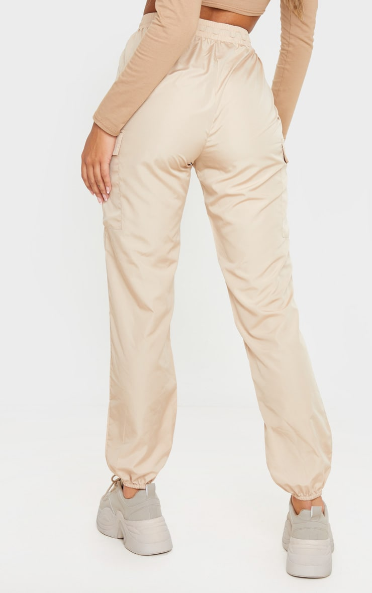 Stone Toggle Waist Shell Suit Jogger 4
