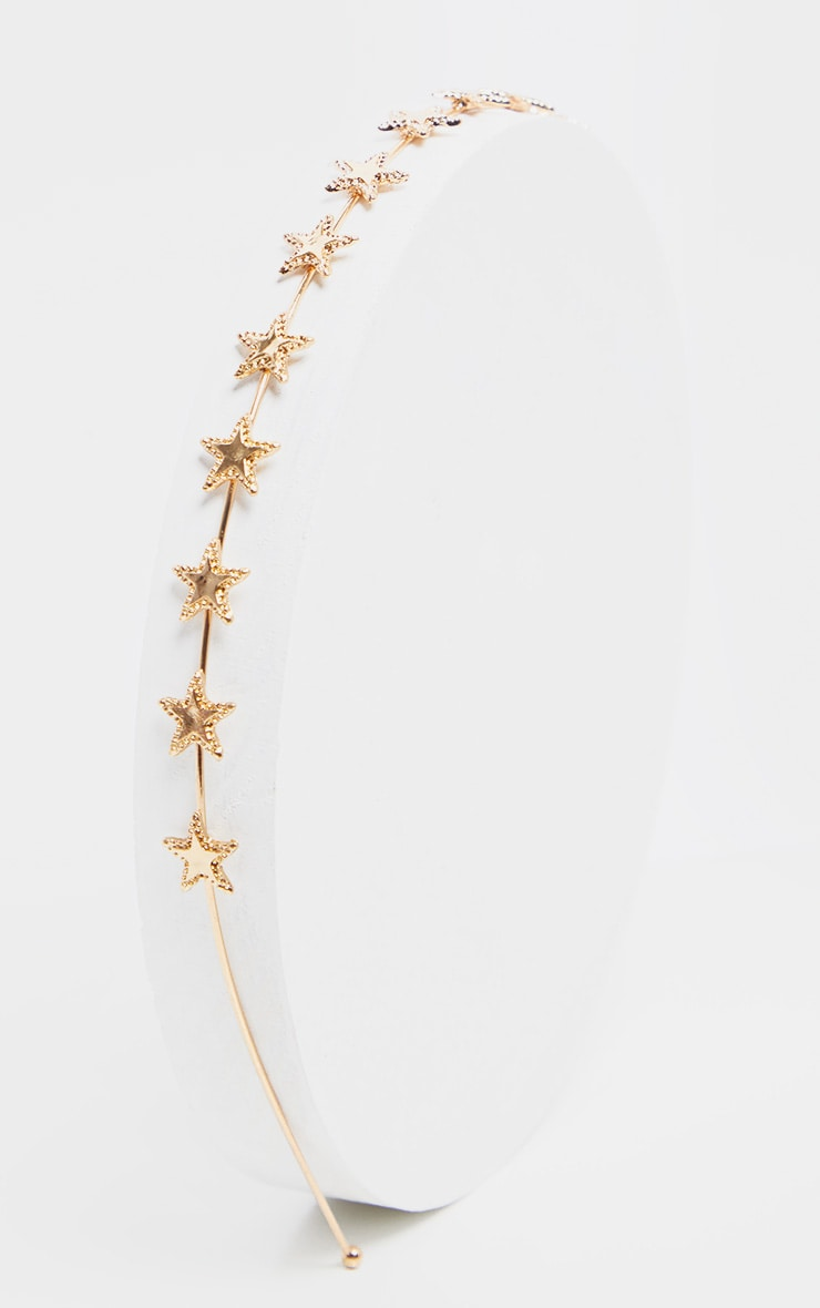 Gold Star Headband 2