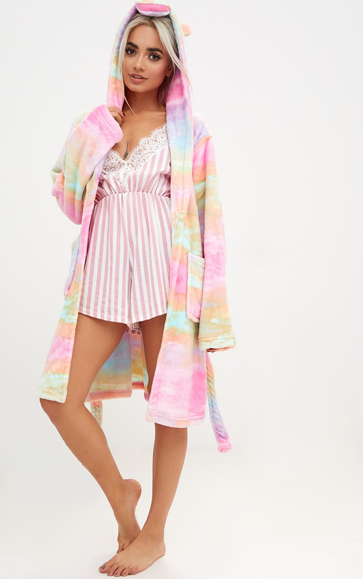 Rainbow Unicorn Dressing Gown 4